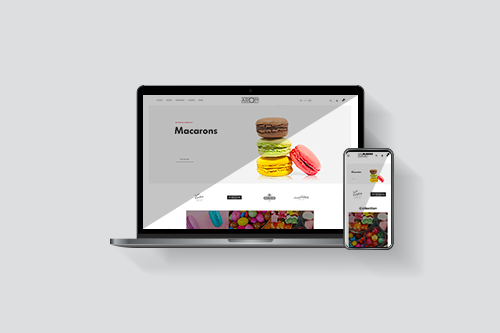 AROM - Site marchand responsive